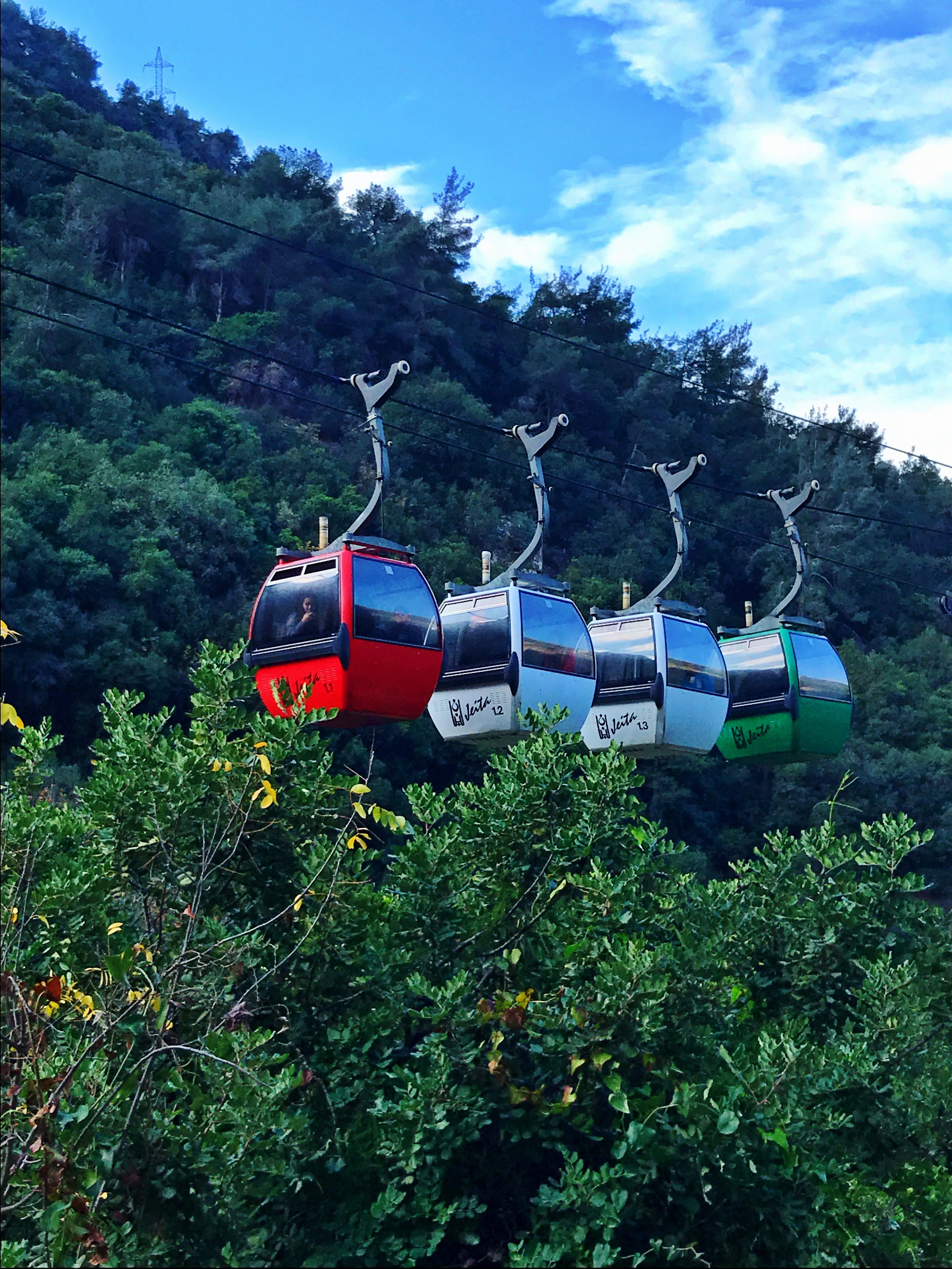 Cable Cart - Jeita Grotto