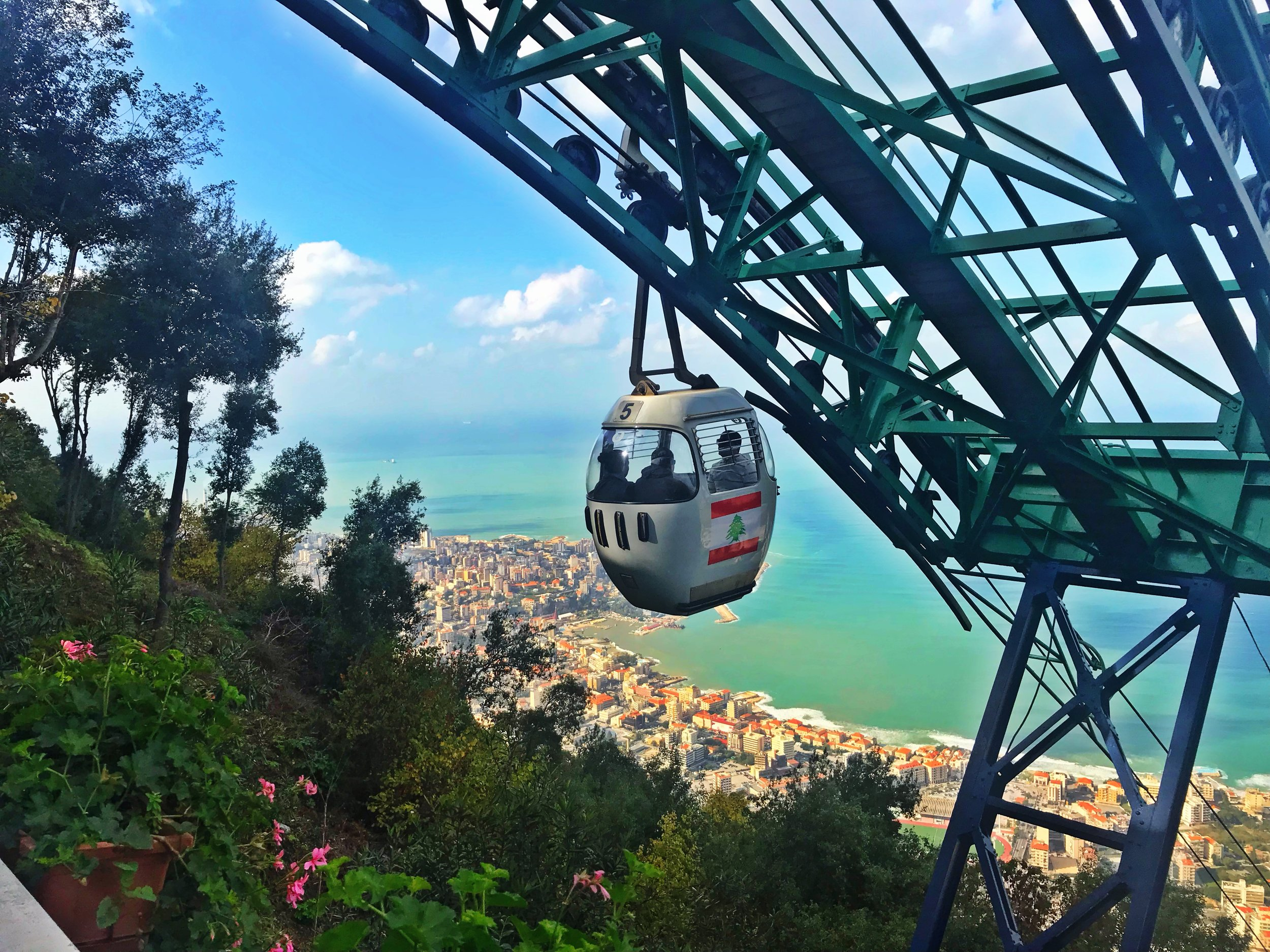 Cable Cart Ride to Harissa
