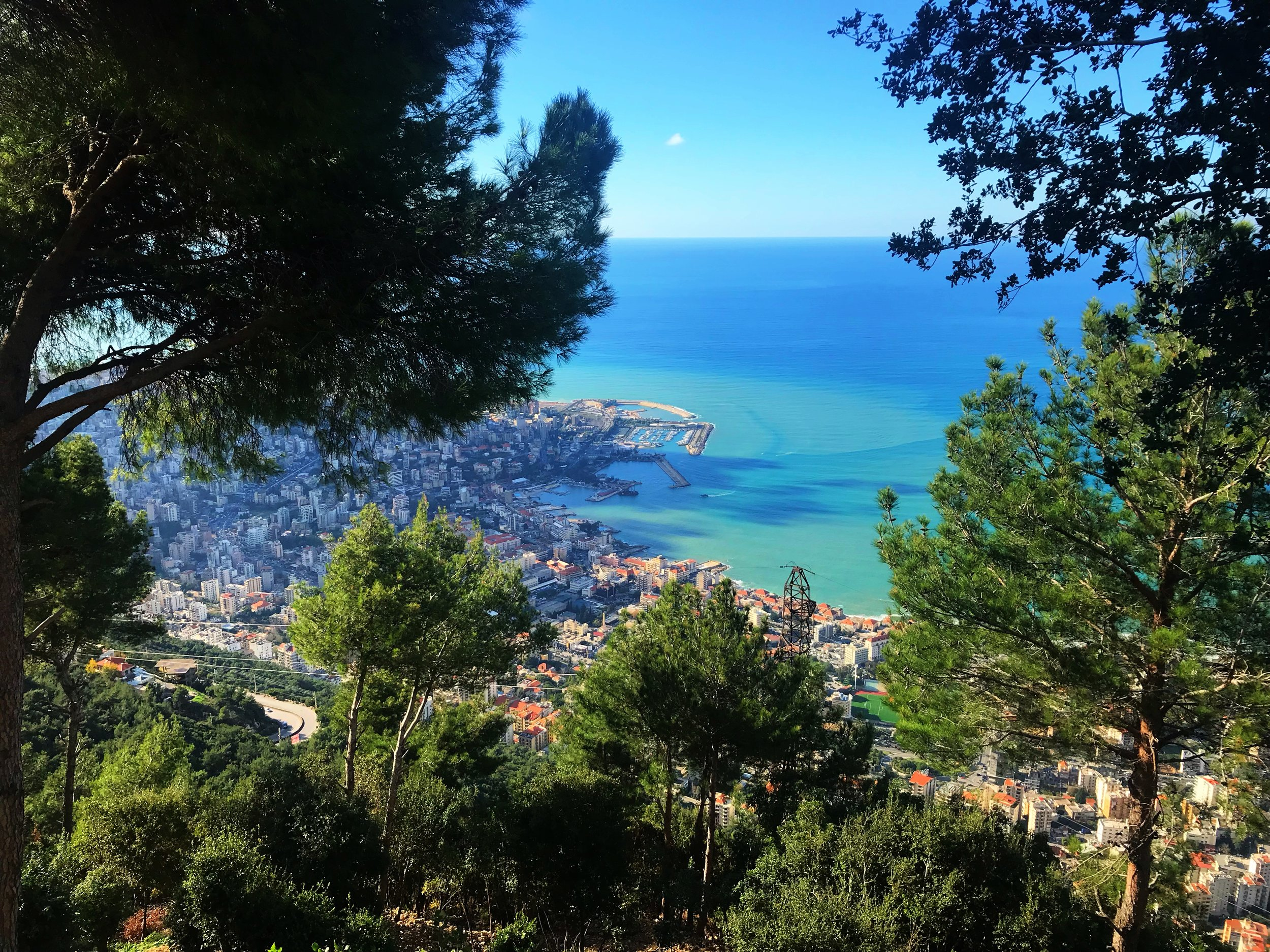 View From Harissa