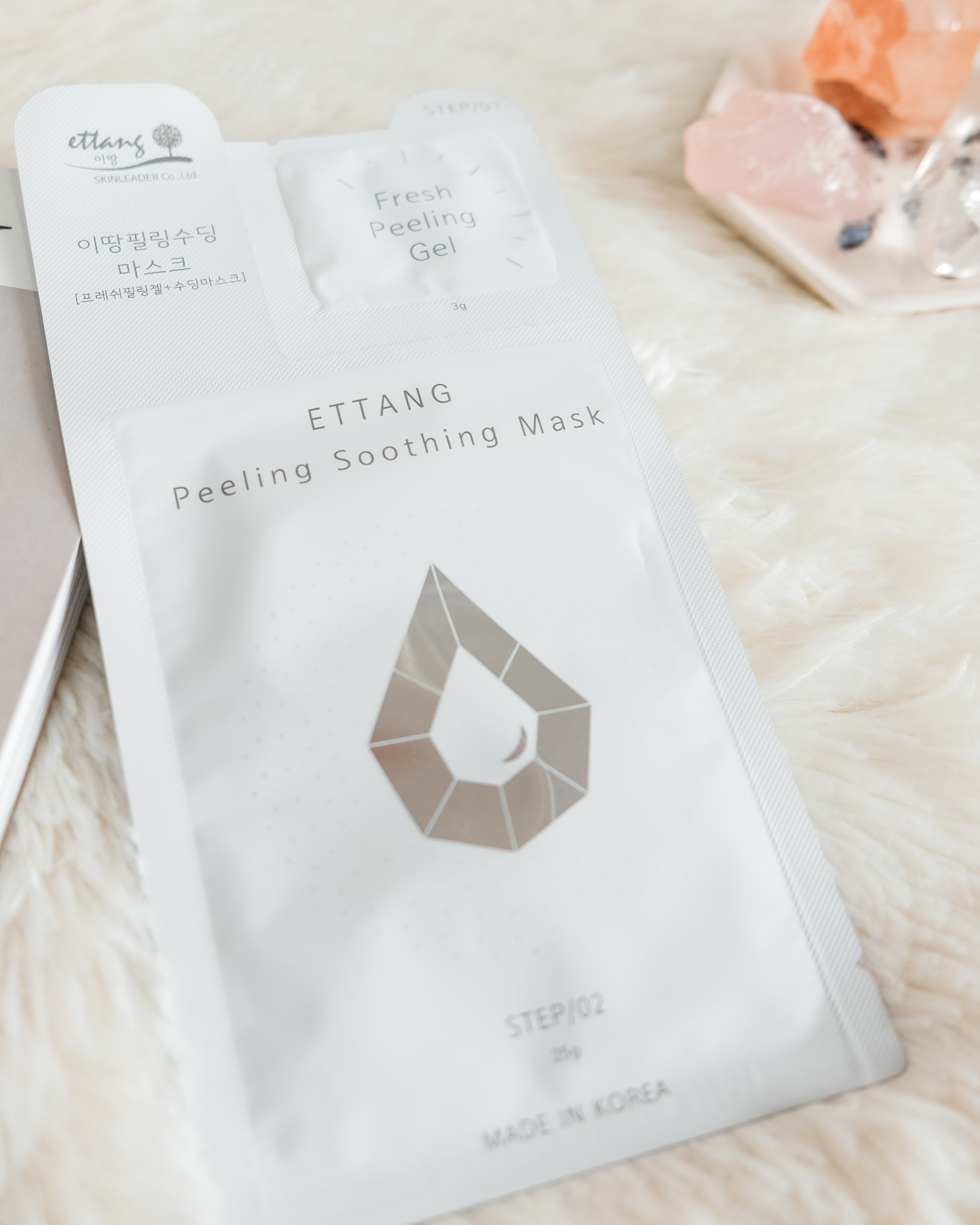 Ettang Two-Step Peeling Mask