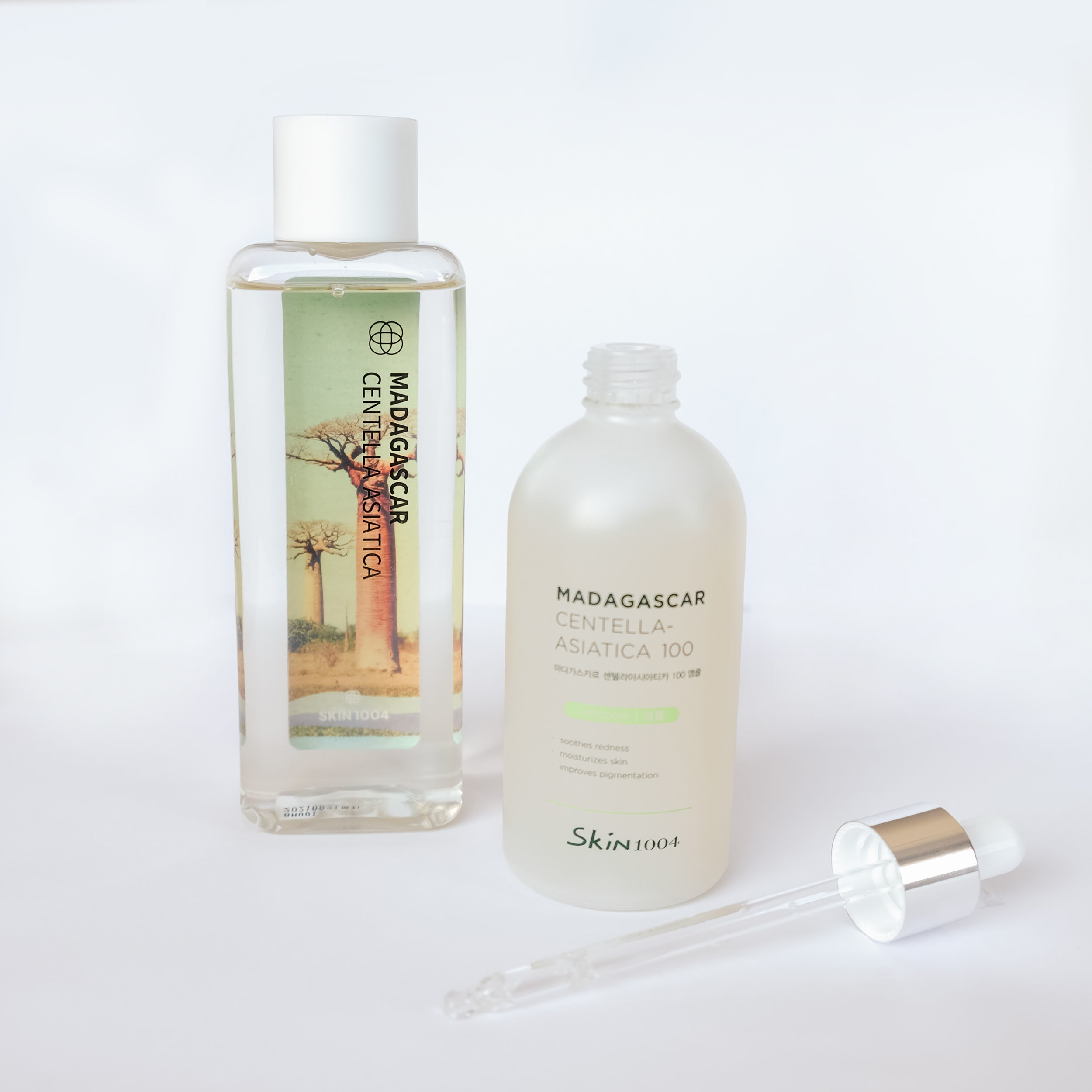 Skin1004 Madagascar Centella Asiatica Toner and Ampoule Set