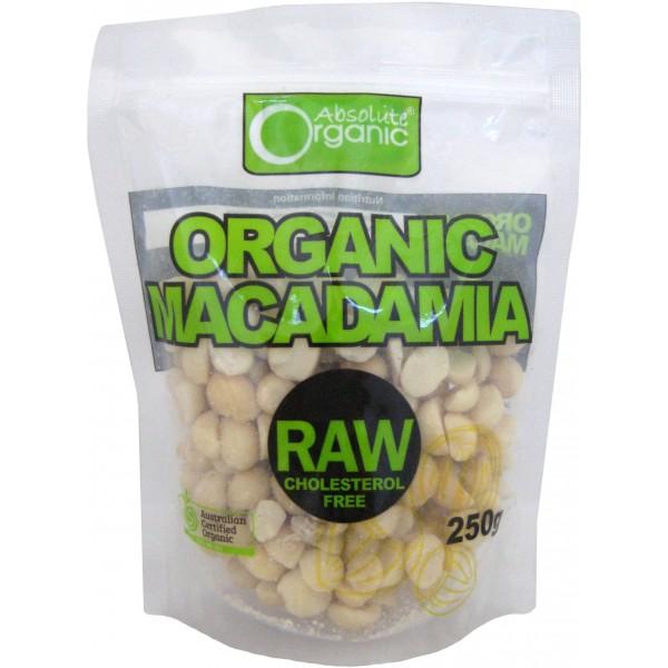 Organic Raw Macadamia 250g