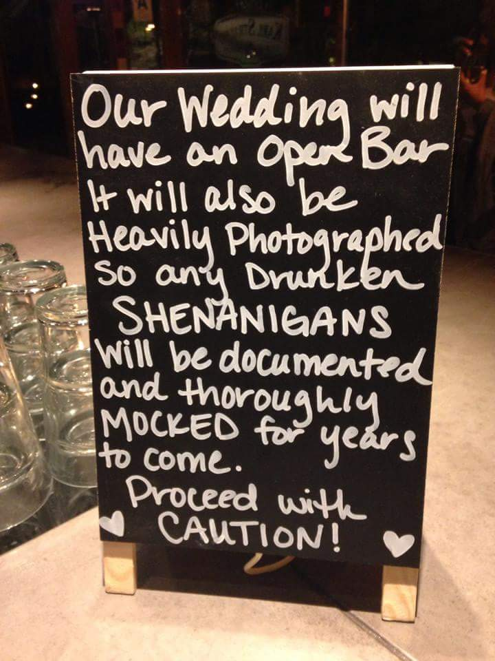 Many custom ideas are available for your wedding day!