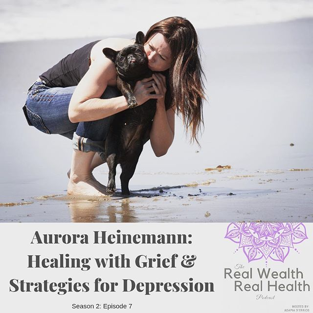 This new podcast episode features my soul sister and dear friend, Aurora Heinemann @aurora.heinemann ⠀ ⠀ In this beautiful and uplifting conversation, we talk about what brought us together - our Frenchies Barrington and Sophie and the process of grieving we've gone through since losing them both to cancer, one-month apart. ⠀ ⠀ Aurora is an inspiring entrepreneur, single Mom, and loving guide to many people who attend her yoga studio, classes and teacher trainings at @theyogachannel ... ⠀ ⠀ She found yoga when she was in the midst of a deep depression many years ago and she's been using yoga and other practices, especially awareness and mindfulness, to continually manage depression if and when it arises. ⠀ ⠀ We've both felt this over the last few months, and this conversation is truly uplifting and FULL of great advice on managing ... life. Because life IS emotional, emotions are a part of life; they co-exist with us. When we embrace all of our emotions we become whole, and we are wholly able to live this life to the fullest ... ⠀ ⠀ Also follow @sofierceforever where Aurora shares her grief writings. So beautiful. ⠀ .⠀ .⠀ .⠀ .⠀ .⠀ #rwrh #podcastepisode #managingdepression #yogahealing #embraceemotions #spiritualjourney #frenchiemamma #frenchie #cancersucks #healthyliving #mentalhealth #emotional #uplifting #inspirationalpodcast #yogateacher ⠀ ⠀ ⠀ ⠀