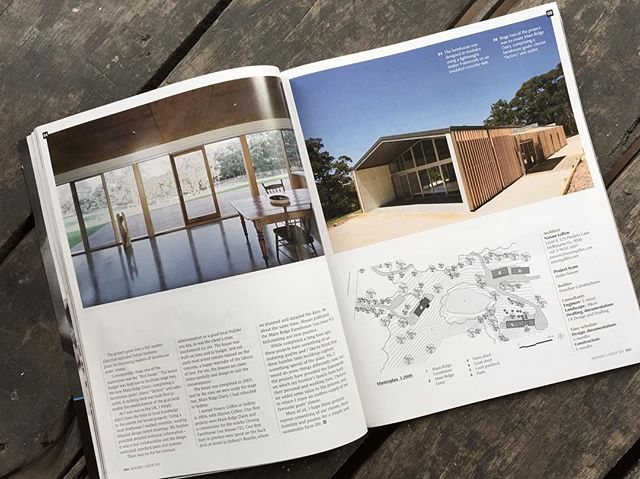So pleased to be included in the latest edition of Houses magazine amongst great company. Reflections on our modest First House project... Great to look back on early beginnings and wonderful clients. Thanks for the support... @main_ridge_dairy, @bernie_everett_building @everclearforever @shannonmcgrath7 and @katelinbutler @housesmagazine #morningtonperninsula #mainridge