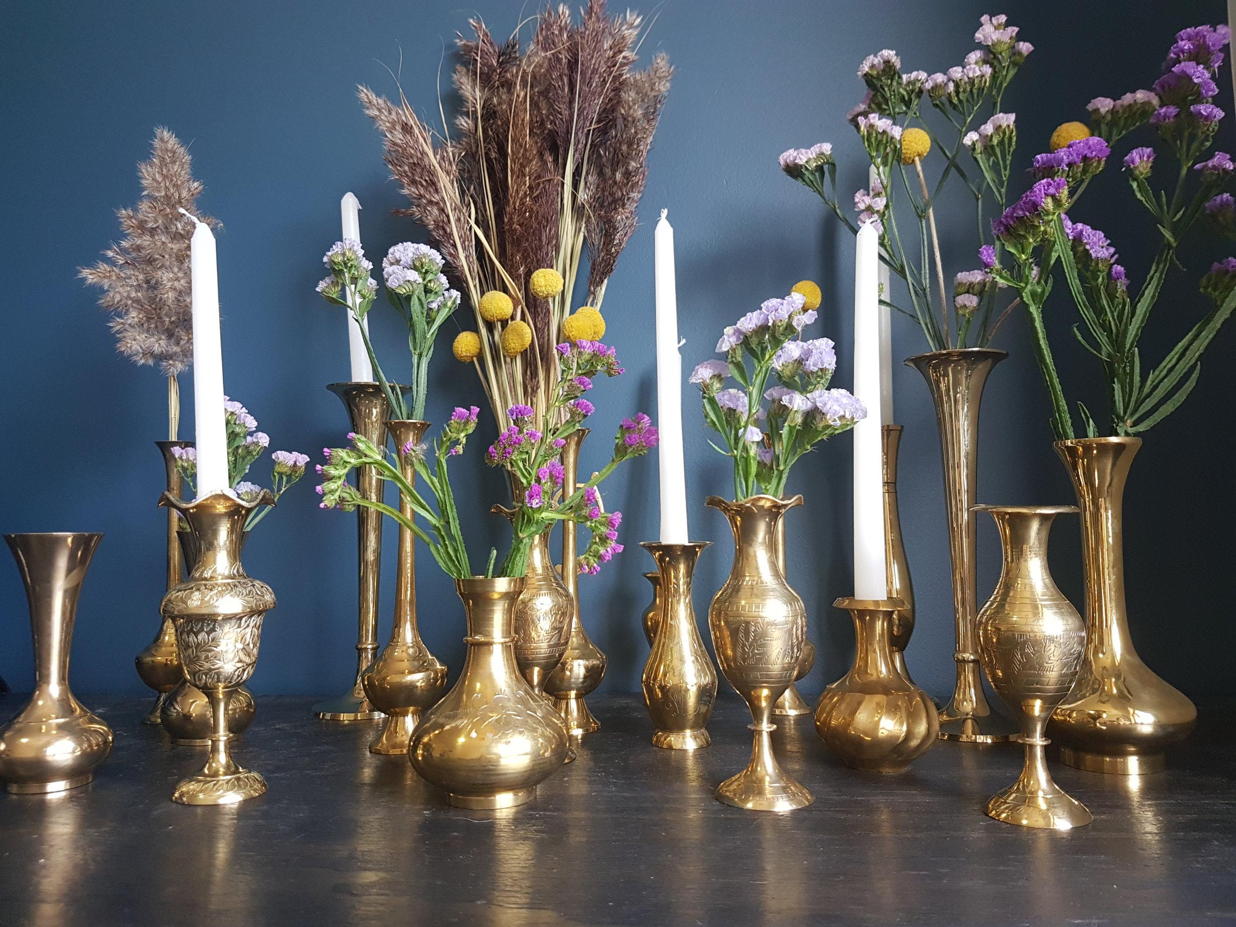Hire Brass Candlesticks