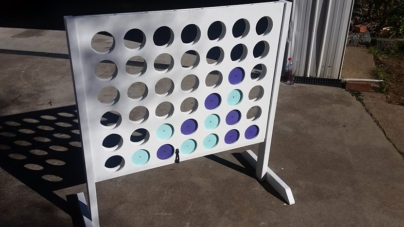 Hire Giant Connect 4 Canberra