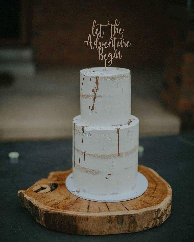 Wedding Cake Wood Stand
