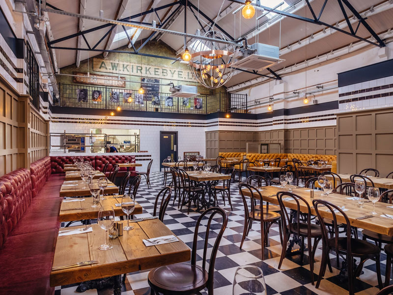 Butler Whites promises casual, bistro-style dining with a regularly-changing, experimental menu.