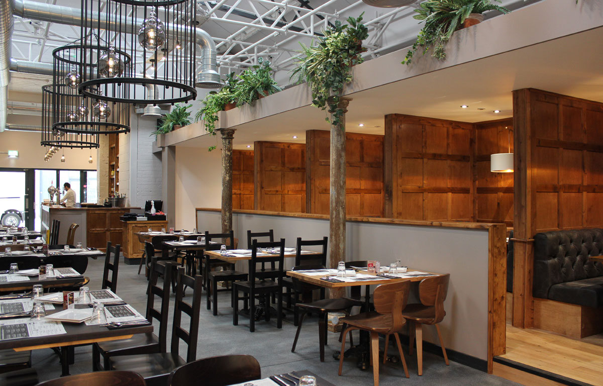 Ambiente Tapas offers 120 covers inside and 40 more in an outdoor seating area.