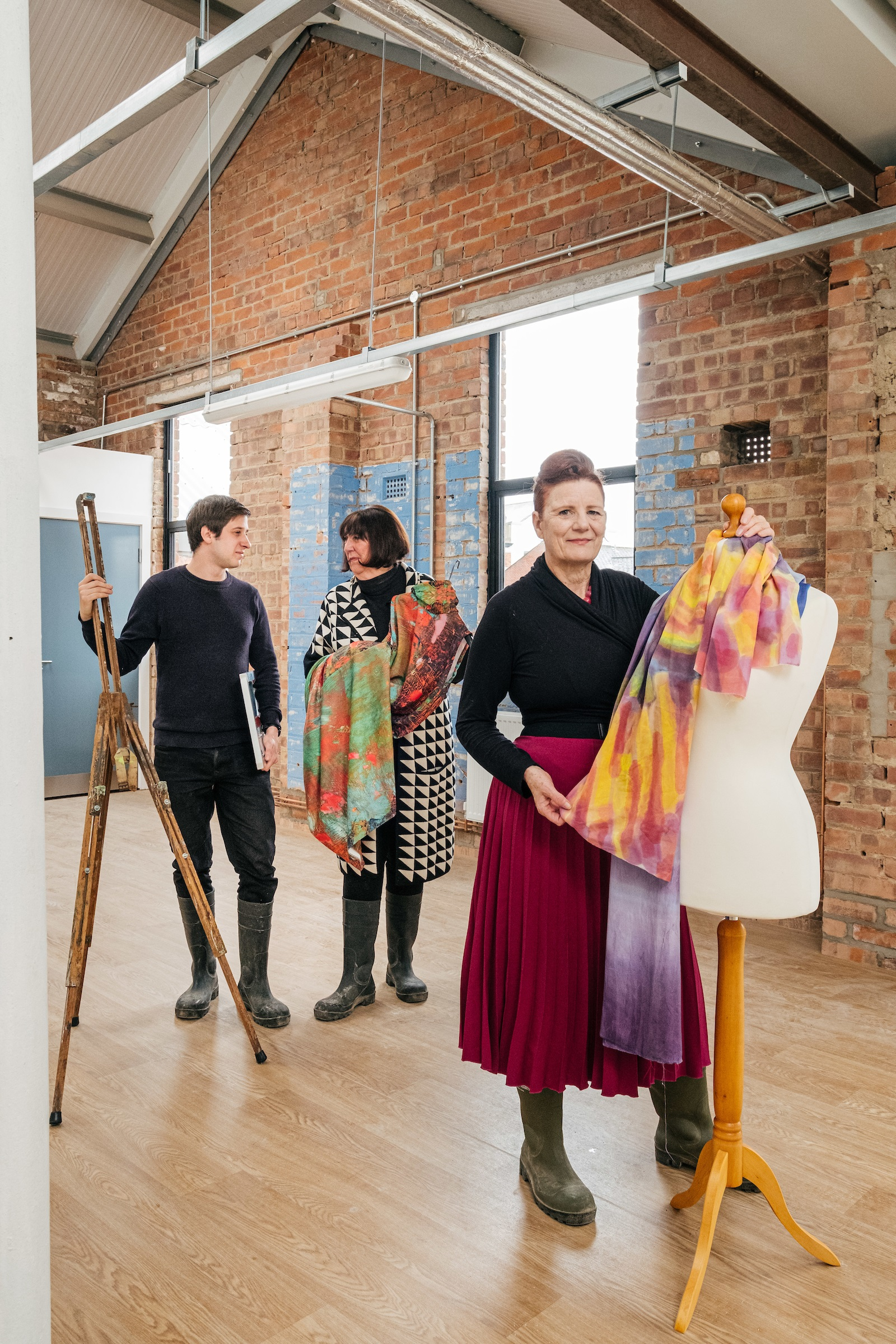 Juice Studios will become home to emerging and established creatives looking to develop their careers in a range of art disciplines, including printmaking, contemporary art, textiles, and fashion design