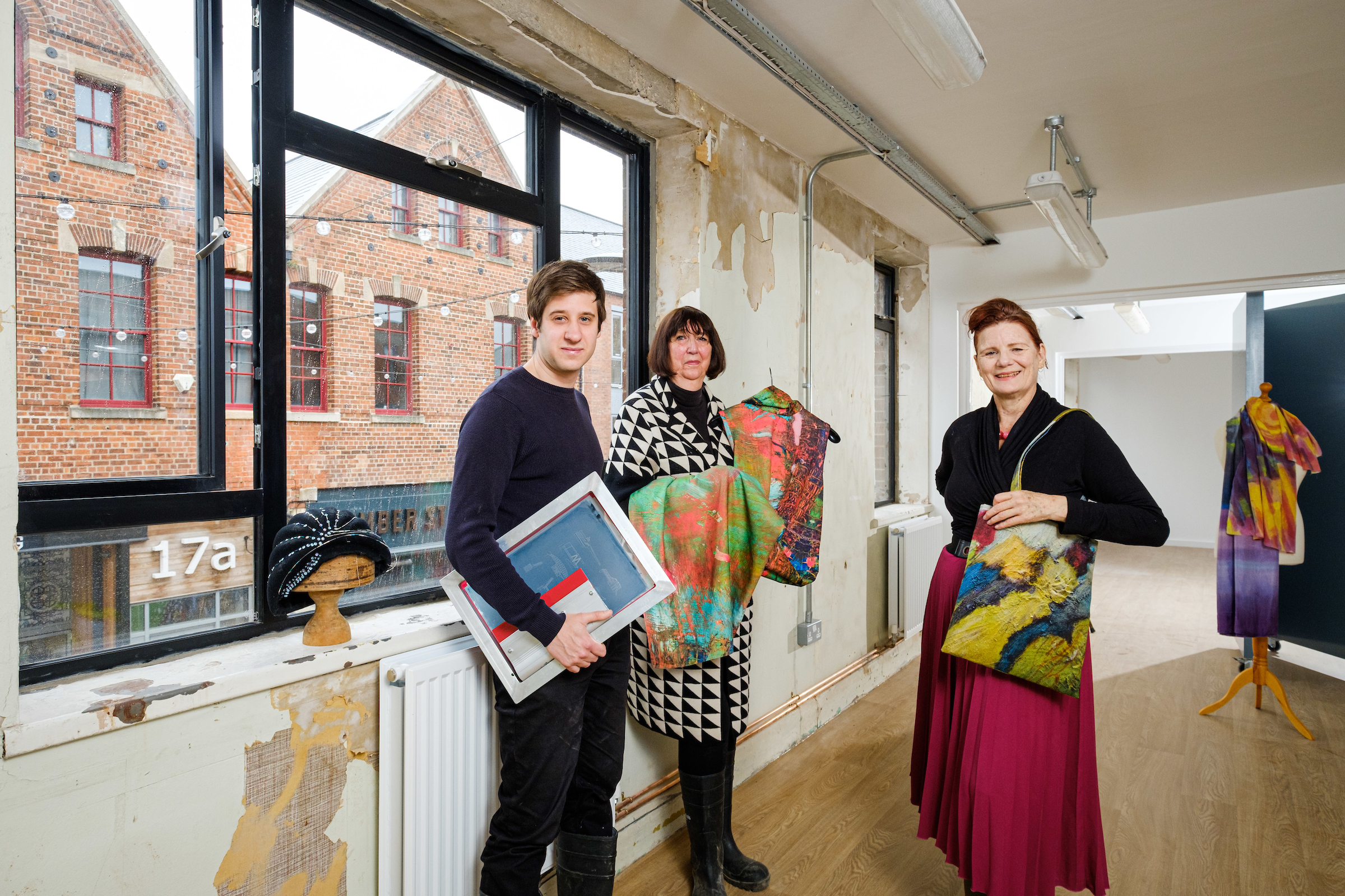 Juice Studios will add to the thriving arts scene already flourishing in the Fruit Market, joining Humber Street Gallery, Studio Eleven, Form Shop & Studio, and Oresome Gallery and Jewellery Workshop.