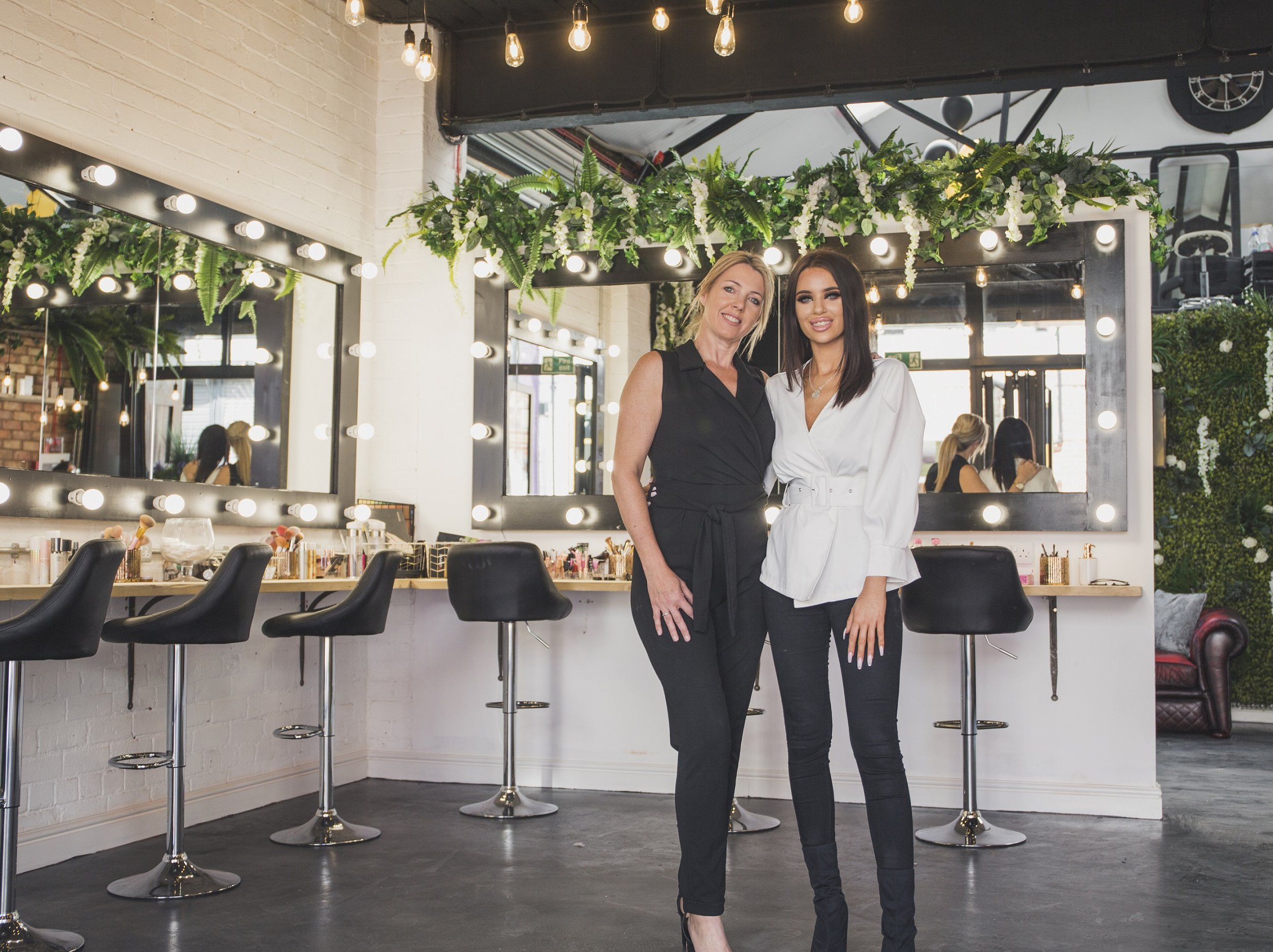 Mother-daughter duo Julie, left, and Zoe Omond have joined forces to launch GH&36 in a renovated warehouse on Humber Street.
