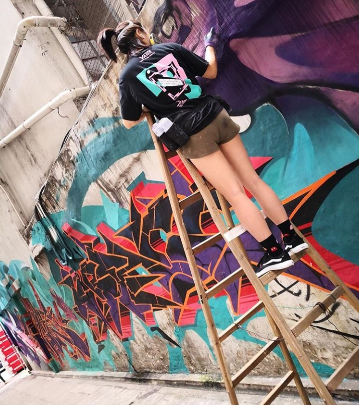 Festival-goers will be able to watch Hong Kong-based graffiti artist ANHZ at work in the Fruit Market during Humber Street Sesh.