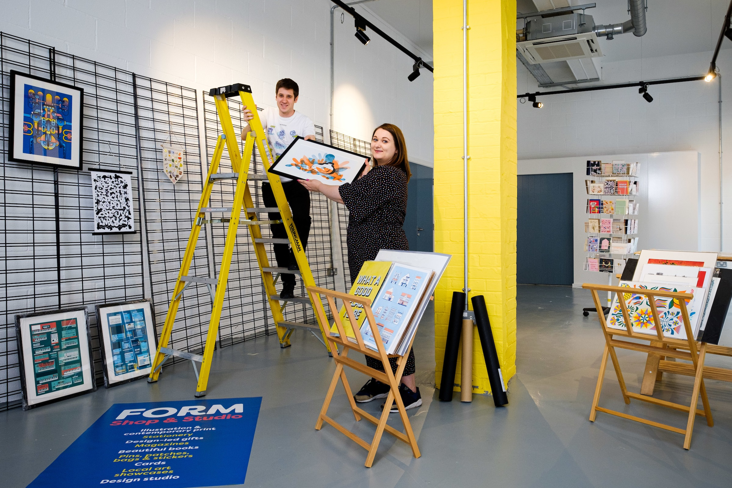 The move will enable Joseph Cox and Alice Thomson to build on their work with local artists and creatives, offering new opportunities to promote Hull's creative talent.