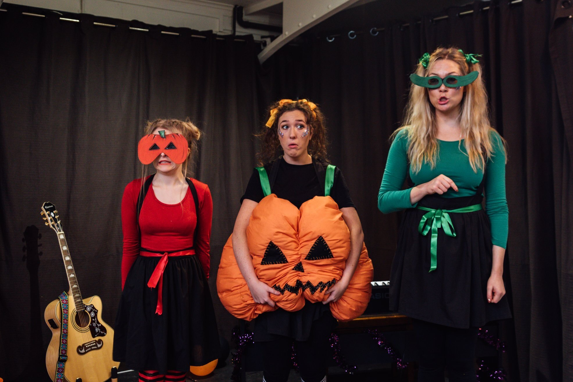 She Productions' cast members rehearse The Lightless Pumpkin which is coming to Humber Street in November.