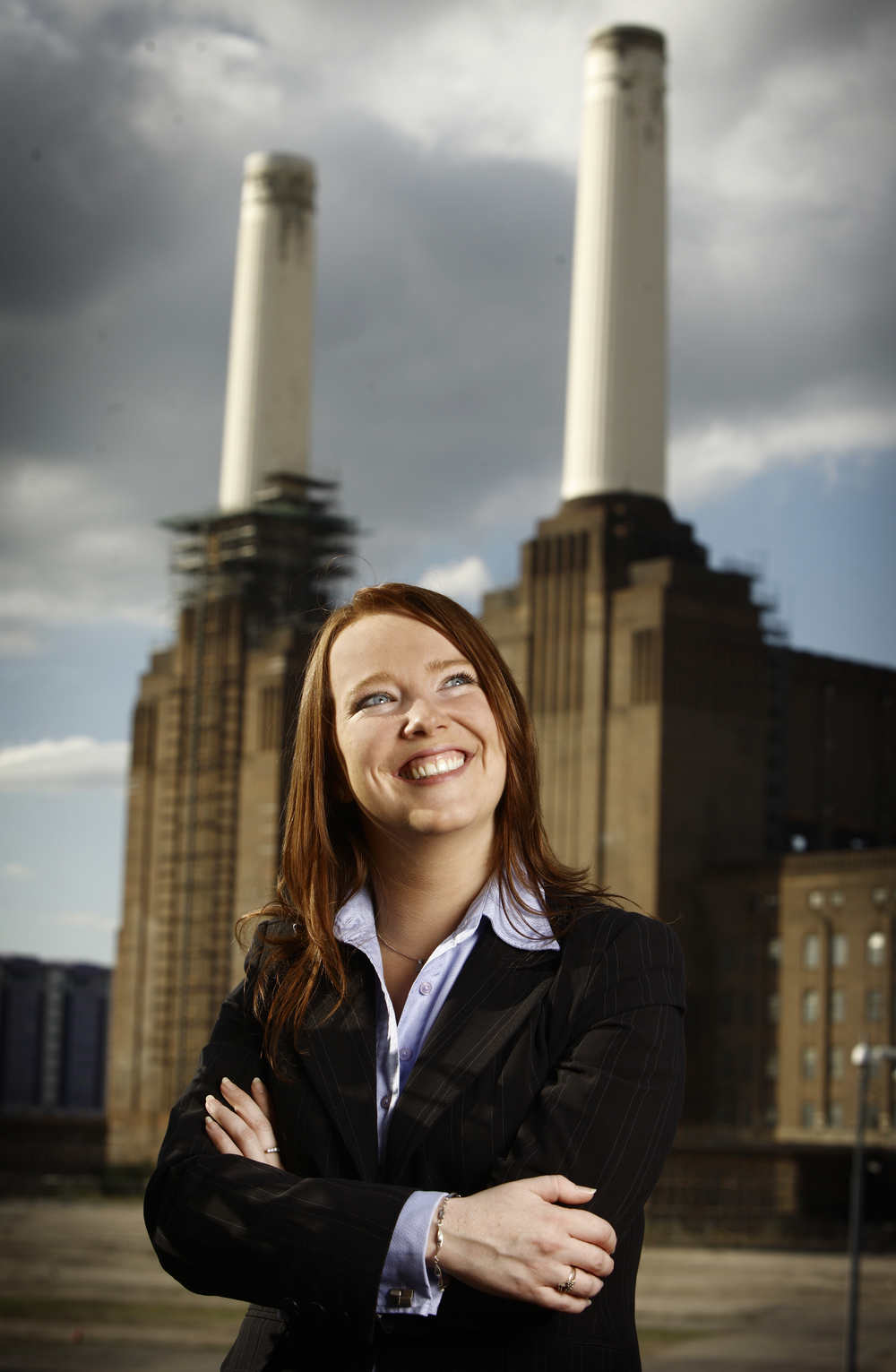Dionne Winter from Hays Recruitment pictured at Battersea Power Station.