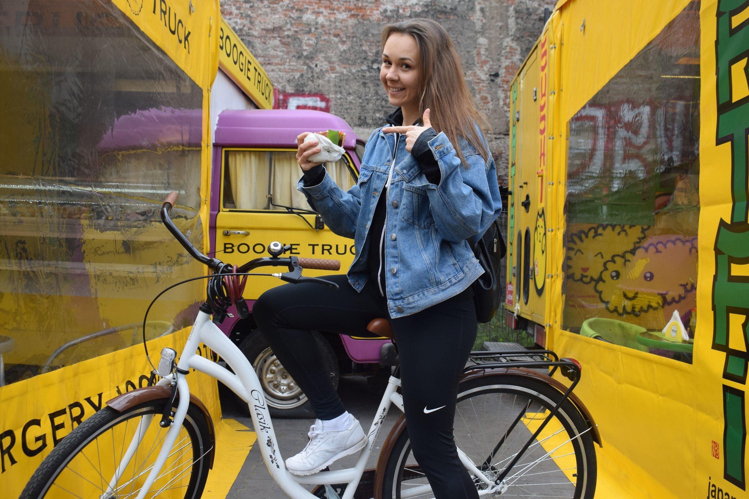 Krakow Bike&Bite Tour