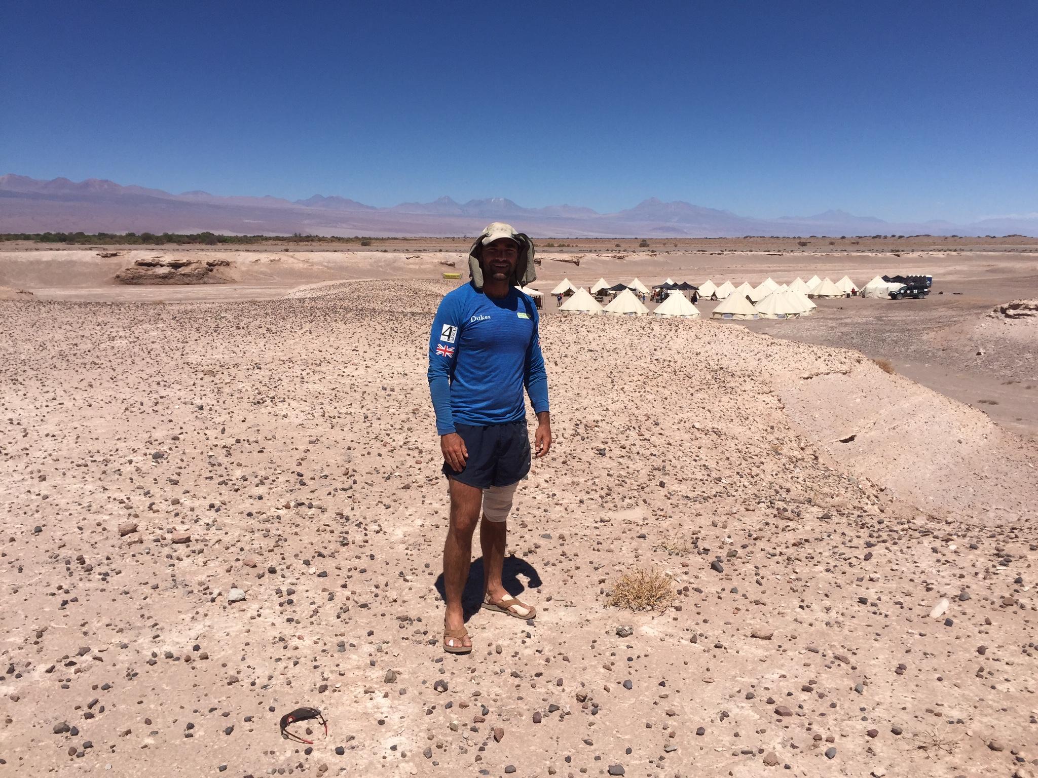 Atacama Desert Expedition. 6 marathons in 5 days, Part of the @4Deserts Expedition.