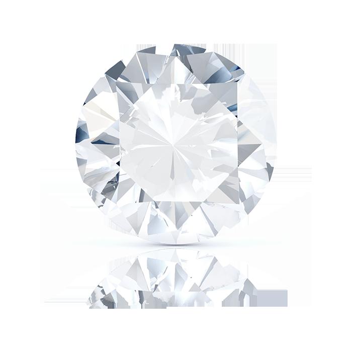 ROUND DIAMOND FRONT