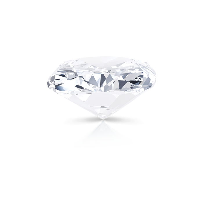 CUSHION CUT DIAMOND SIDE