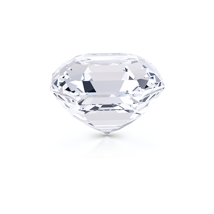 ASSCHER DIAMOND SIDE