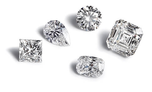 Choosing-a-diamond-shapes
