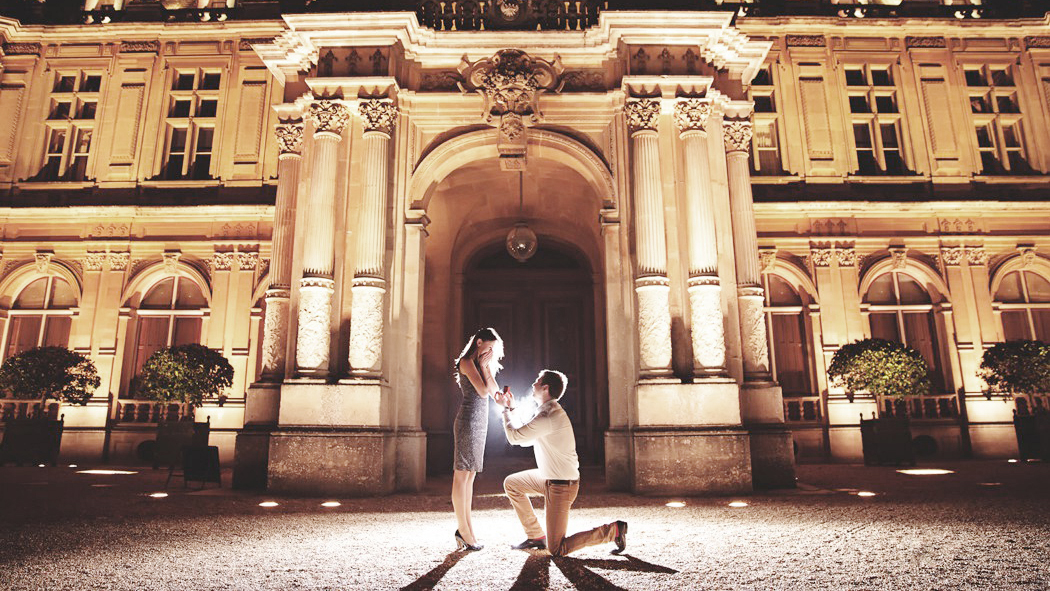 Stately Home Proposal by The Proposers - Photo Credit 'SanShine Photography'
