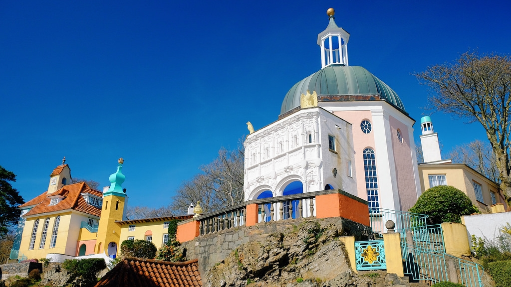 Portmeirion - Perhaps the Most Colourful Village in the UK