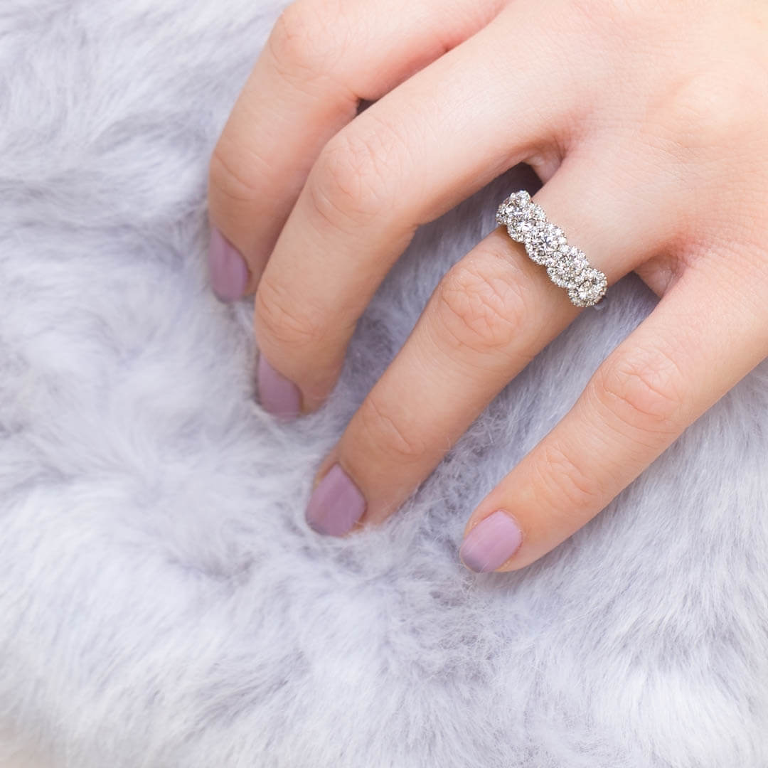 A bespoke 5 Stone engagement ring  @Queensmiths