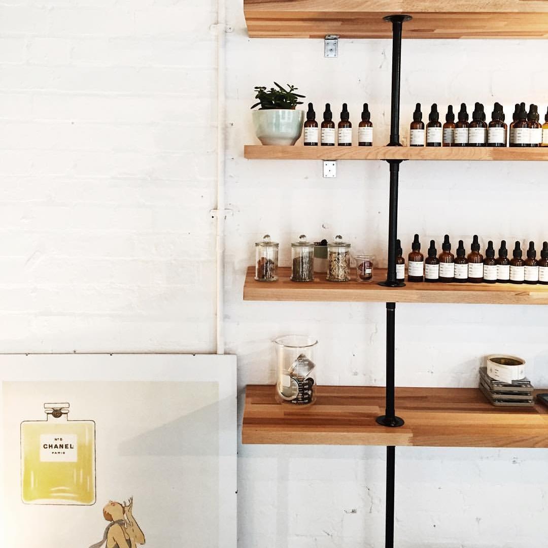 The open studio in Hackney  @experimentalperfumeclub