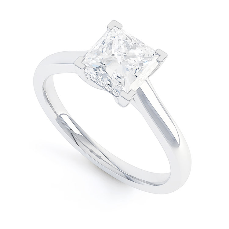De Carlo engagement ring , by Queensmith
