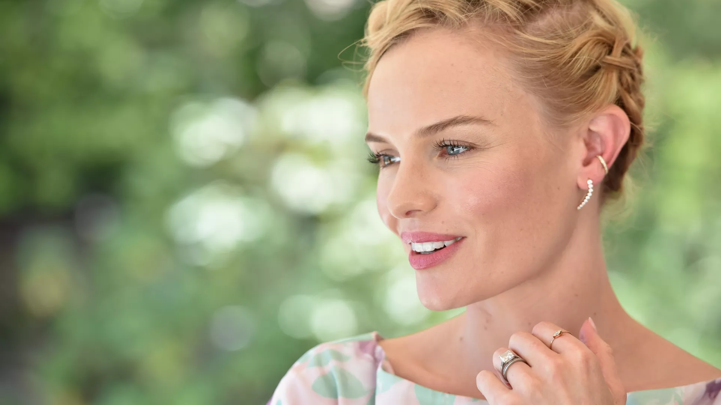 Kate Bosworth's engagement ring is among some of our favourite designs.  Alberto E. Rodriguez/Getty Images