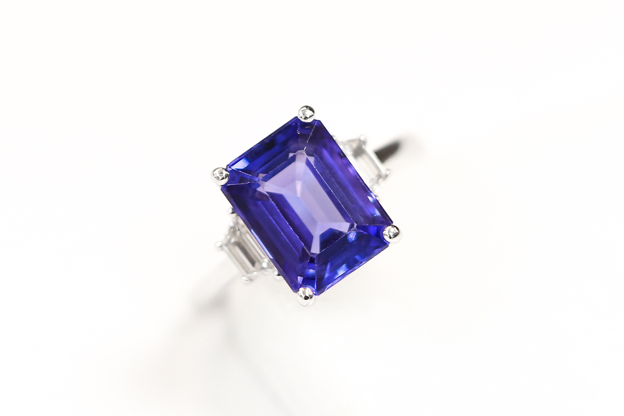 Sapphire and diamond cocktail ring, by Queensmith