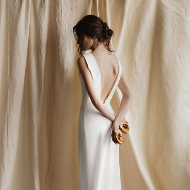 We stumbled upon the upcoming brand @betwins.atelier on Pinterest, and are so glad we did. From white pant suits to silky gowns, there's something for every contemporary bride . . . . . #contemporarybride #bridal #bride #birdalfashion #slowbride #instabride #whiteweddingdress #uniqueweddingdress #simpleweddingdress #simplebride #minimalistdress #minimalistweddingdress #bohemianweddingdress #bohobride #londonbride #summerwedding