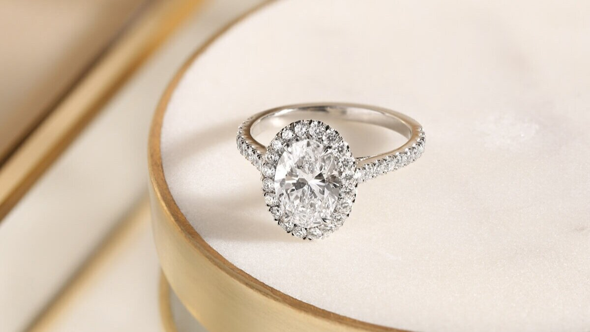 Should I Choose A Diamond Halo Engagement Ring Queensmith Master Jewellers