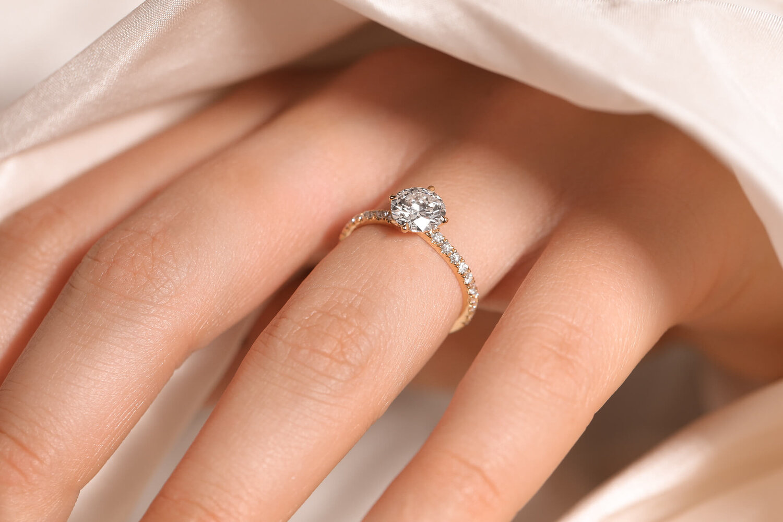 سائق العادي ضع علامة Gold Diamond Engagement Rings For Women Psidiagnosticins Com