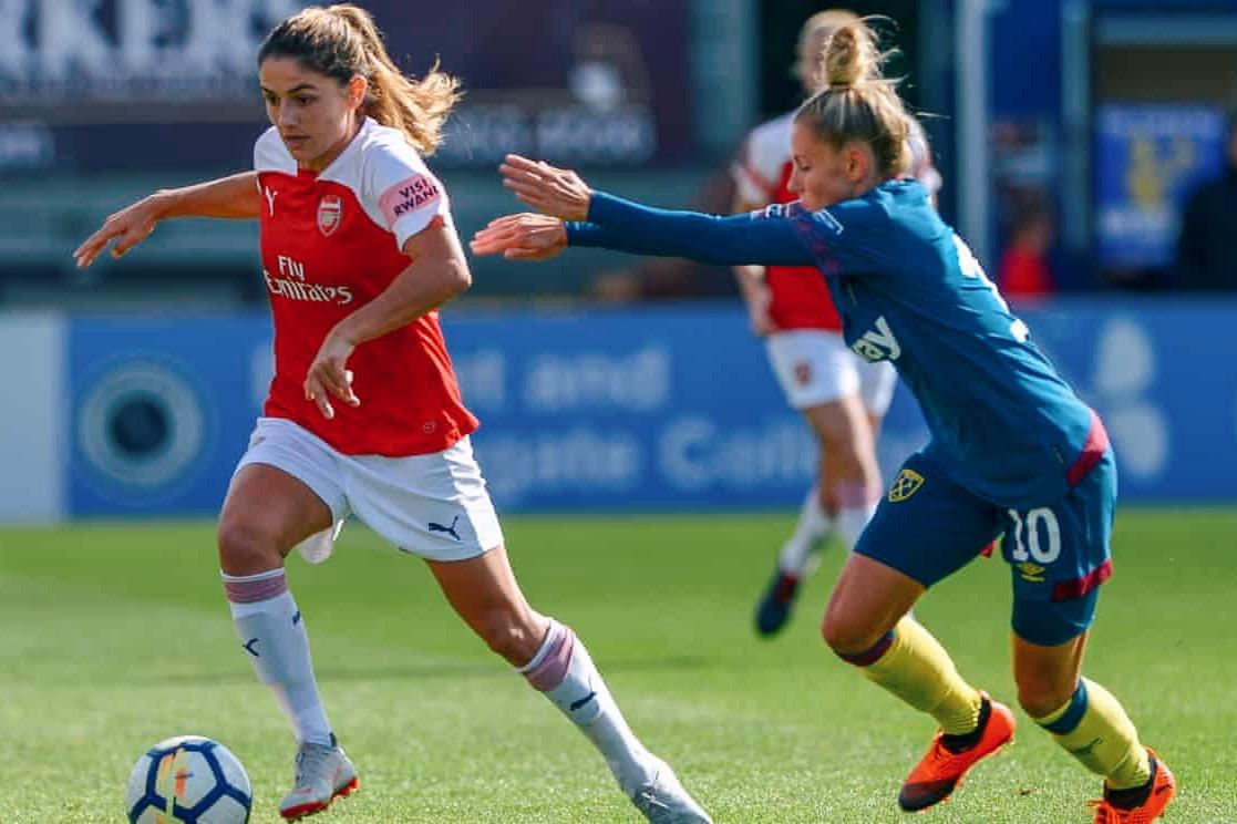 Daniëlle van de Donk scored three times from corners at Meadow Park. Image: Paul Simpson/Shutterstock