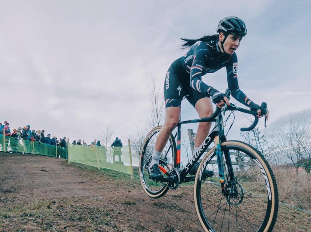 Nikki Brammeier in the race for her fourth national title. Img: @drops of diamond/Instagram