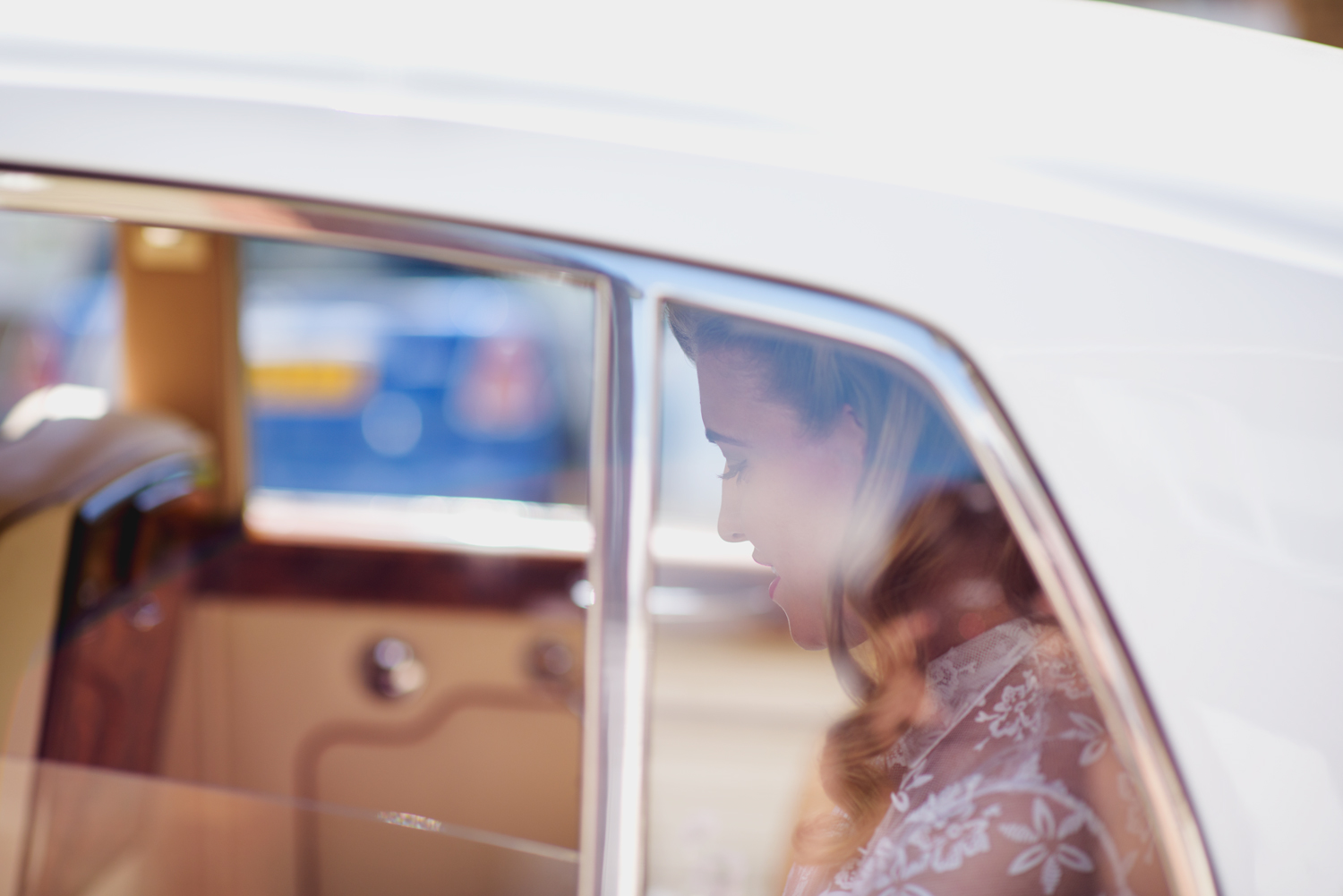 Ida Hollis Wedding Photography - Lucy in the Car