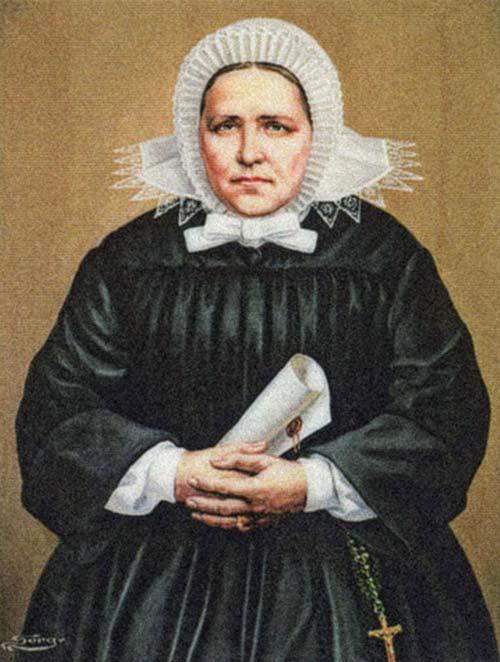 Błogosławiona Maria Merkert  ✞ Była pierwszą Przełożoną Generalną powstałego 27 września 1842 r. Zgromadzenia Sióstr Św. Elżbiety  ✞ Patronka chorych na gruźlicę i choroby płuc  ✞ Nazywana Śląską Samarytanką, prowadziła działalność charytatywną wśród najuboższych i pielęgnowała chorych  ✞ Wspomnienie liturgiczne dn. 14 listopada  ✞ Beatyfikowana 30 września 2007r. w Nysie na Śląsku