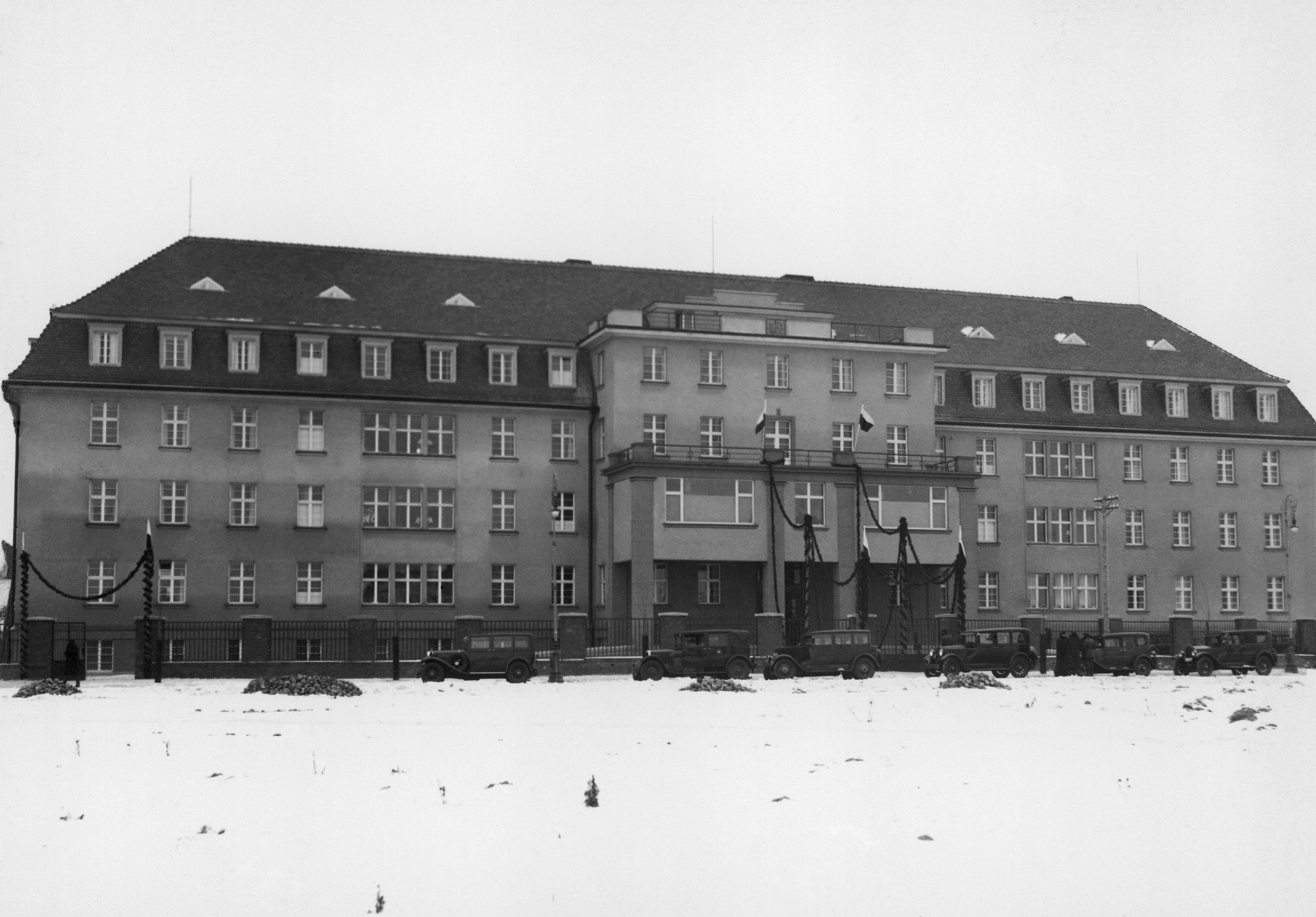 Budynek Szpital 30.01.1931r.
