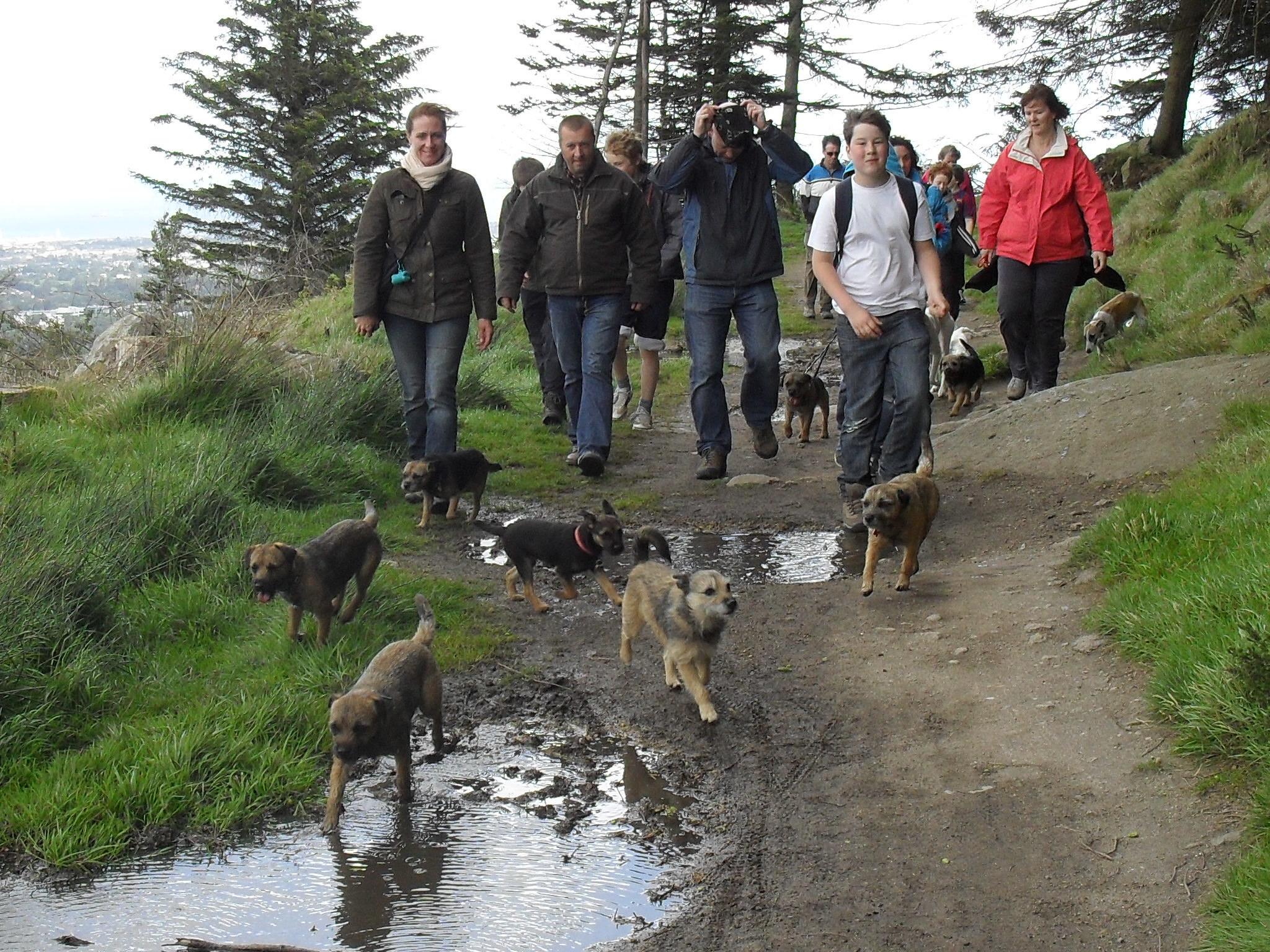 The Dog House sponsored walk, May 2011