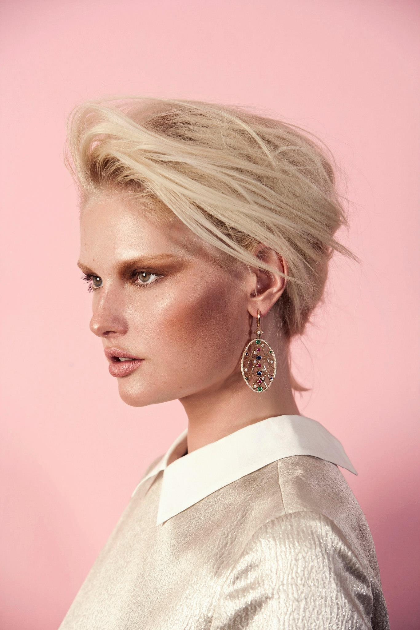 Portuguese Story earrings featured on Vogue Acessory Jewellery Editorial. Production AORP - Portuguese Jewellery.