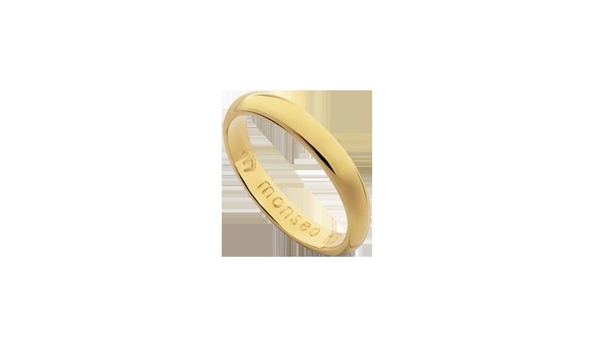 AN2433 - Aliança Moments Lovely 3.3 mm   Aliança em ouro amarelo 19.2 Kt. Opção em ouro rosa ou ouro branco.