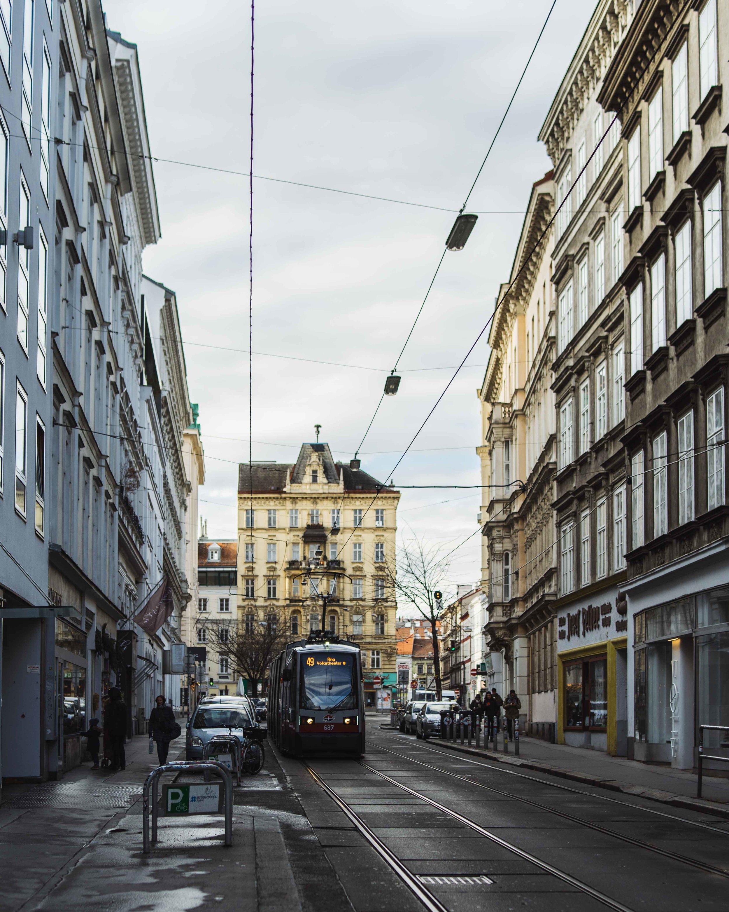 La Spittelberg straße è una piccola via laterale del centro, nel cuore della città.