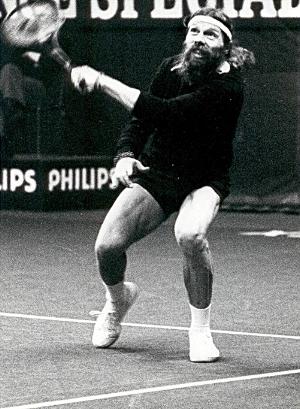 Torben Ulrich:writer, musician, filmmaker, painter and a Viking of a tennis player