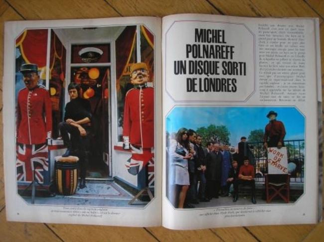 Michel Polnareff in London:Salut Les Copains, juillet 1967