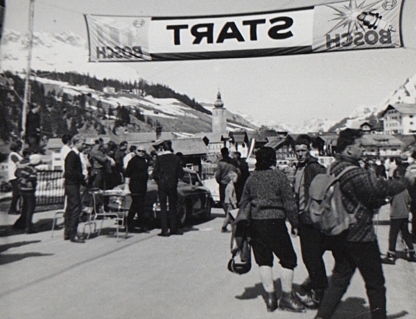 The annual Porsche race at Lech , 1964 not 1967