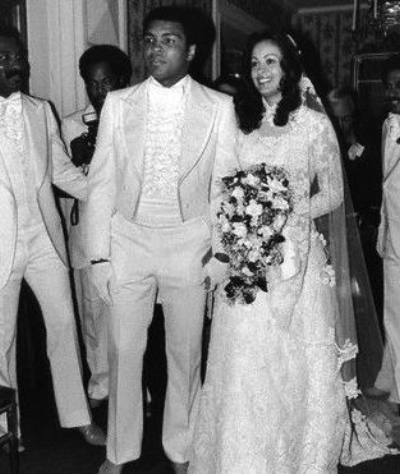 Cassius Clay (aka Muhammad Ali) and his second wife Belinda, aged 17